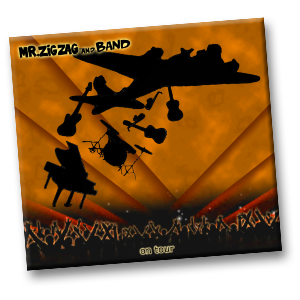 Mr. ZigZag and Band CD